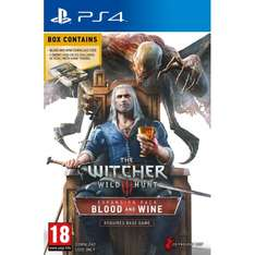 Mediamarkt - 19,99 MIT VERSAND - The Witcher Wild Hunt - Blood and Wine (Limited Edition) PS4 - FSK 18+ - *UPDATE 04.10.2016 ABGELAUFEN*