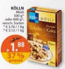 [Müller] Kölln Müsli für nur 1,88 € statt 2,99 €