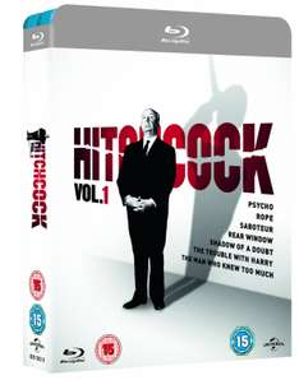 Hitchcock Vol.1 + Vol.2 [Blu-ray] für ca. 17,30 € > [zavvi.com]