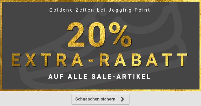 Jogging-Point 20% auf ALLE SALE Artikel II VSKfrei ab 29€ II Mit Sovendus GS 10% kombinierbar