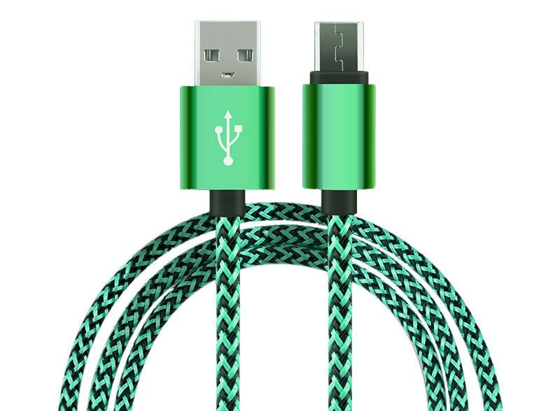 """[Aliexpress] Antwort auf die """"1€ micro USB Kabel auf ebay"""" 1-3m 5V/2A (!) verschiedene Farben"""
