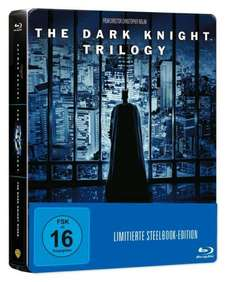 (ABGELAUFEN) (Amazon Prime) The Dark Knight Trilogy Steelbook