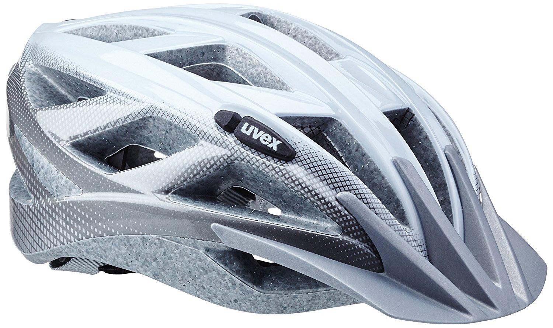[AMAZON] UVEX Fahrradhelm Xenova, White/Dark Silver, 52-57 cm, PVG 48,45€