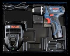 Bosch GSR 10,8-2-LI Professional Akku-Bohrschrauber + 1 x 2,0 Ah Akku und Ladegerät für 64,99 € [Screwfix]