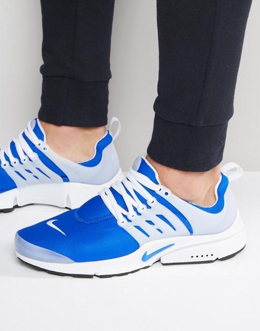 Nike Presto Blau Weiß