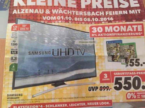 """(lokal?) Samsung UE50KU6099 Ultra HD TV 50"""" @ Medimax"""