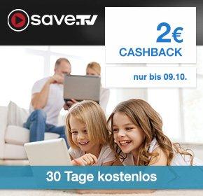 (Shoop) Save.tv: 2€ Cashback für den Abschluss des Probeabos