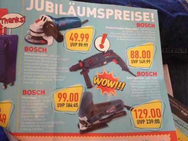 Marktkauf Lemgo - Bosch Werkzeug GSR 10,8 88€ - GBH 2600 129€ -GWS 600 50€