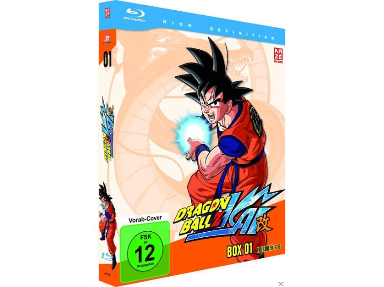 [Mediamarkt GDD] Dragonball Z Kai - Box 1 (Episoden 1-16) (2 Discs) [Blu-ray] für 35,-€ Versandkostenfrei