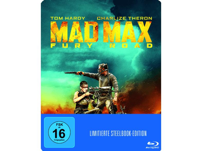 Diverse BluRay Steelbooks ab 7,-€ wie zb. Mad Max 4 - Fury Road (Steelbook) [Blu-ray] für 7,-€ und weitere [Mediamarkt GDD]