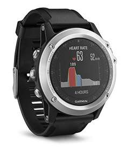 Garmin fenix 3 HR GPS-Multisport-Smartwatch - Herzfrequenzmessung am Handgelenk, zahlreiche Navigations- & Sportfunktionen, GPS/GLONASS