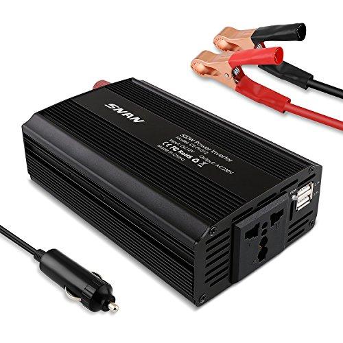 500W 12V auf 230V Steckdose/Spannungswandler für das Auto für 29,99€