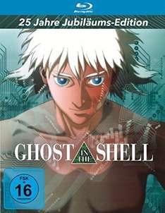 (Amazon Prime) Ghost in the Shell [25 Jahre Jubiläums-Edition] (Mediabook) [Blu-ray] für 19€