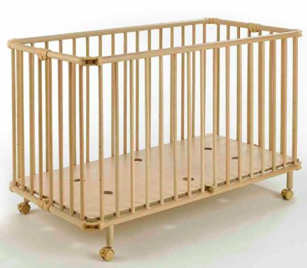 Geuther Babybett (Klappbett) Mayla natur für 89€ bei [Babymarkt]
