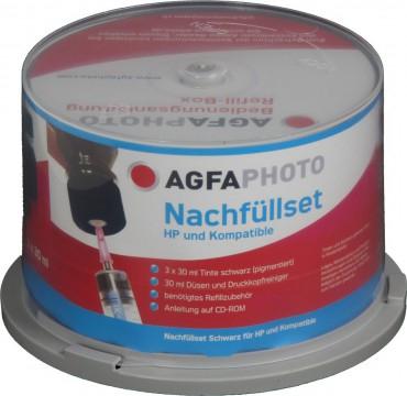 AGFA Photo Druckertinte 3x30ml + 30ml Düsen und Druckkopfreiniger