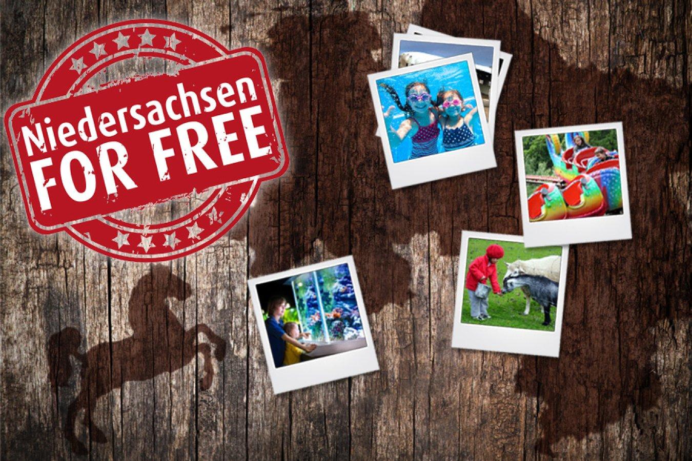 Niedersachsen for FREE - Kostenlos in Parks, Museen, Bäder, etc. in Niedersachsen in den Herbstferien (04.-15.10.2016)
