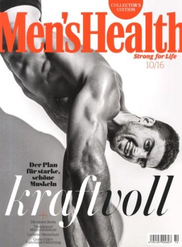 4 Ausgaben Men's health für 15,30€ mit 15,00€ BestChoice-Gutschein
