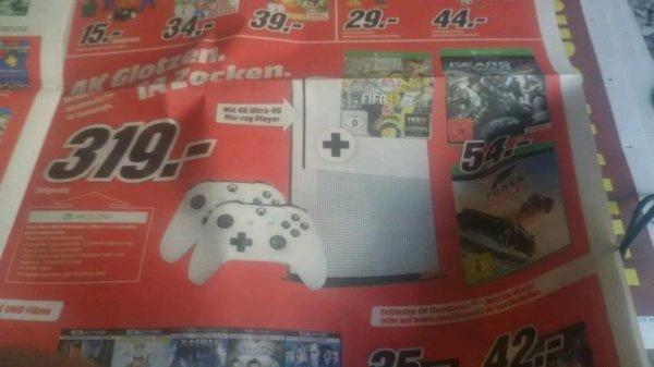 Xbox One S + 2 Controller + Fifa 17