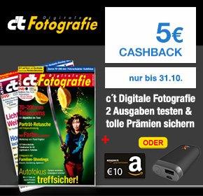 (Shoop) c't Digitale Fotografie für 12,90€ + 10€ Amazon Gutschein + 5€ Cashback