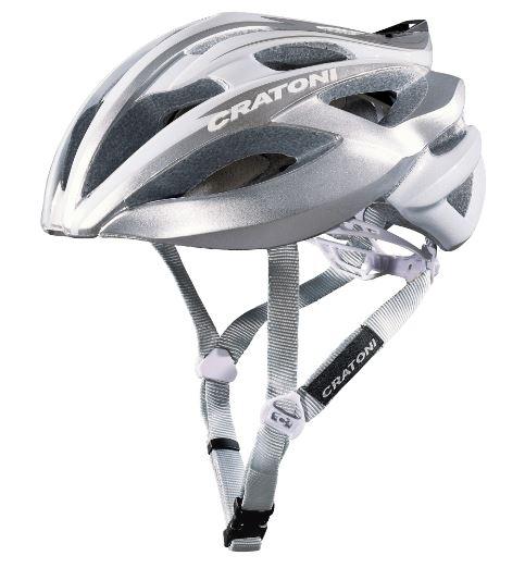 [AMAZON] CRATONI Fahrradhelm C-Bolt - weiß-silber glänzend - M 56-59 cm L 59-62 cm - PVG 69,90 Euro
