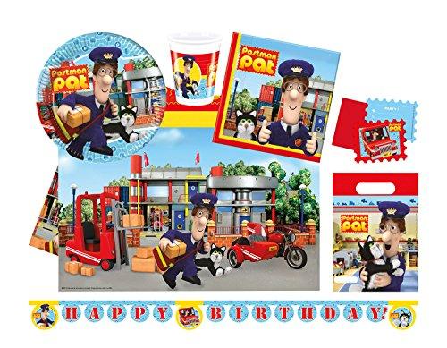 Procos 10110961B - Partyset Dream Works Postman Pat, Größe M, 40 teilig für 2,59€ (Plus Produkt)