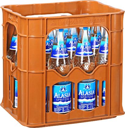 Alasia Perle Natürliches Mineralwasser Kiste (12*0,7l Glasflaschen) 0,96€ (Kaufland Berlin), bundesweit Minderalwasser für 0,96€ die Kiste, evtl. andere Abfüller