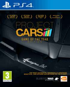 Project Cars - Game of the year edition [Xbox one/PS 4]