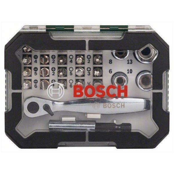 (eBay) Bosch Promoline Schrauberbit- und Ratschen-Set 26-tlg. für 13,99€