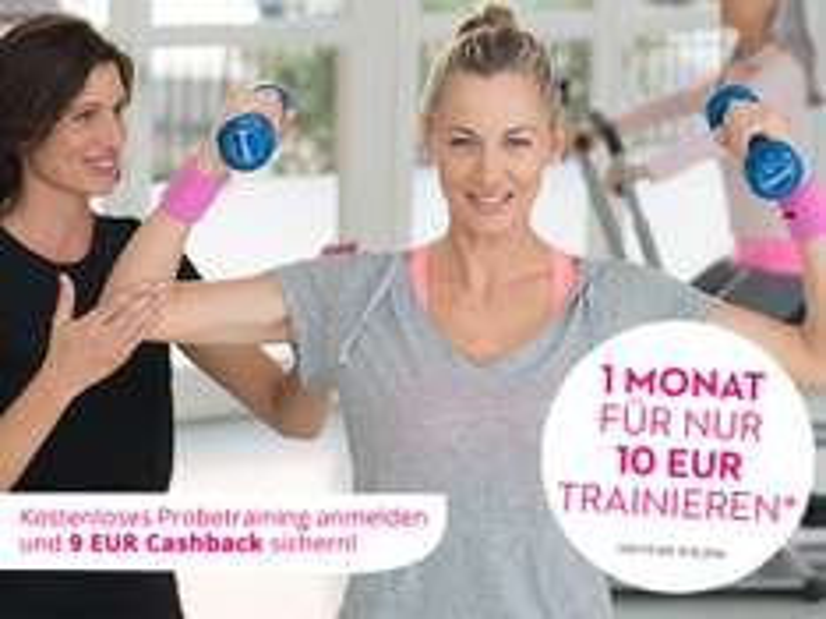 Für ein kostenloses Probetraining bei Mrs. Sporty gibt es 9€ Cashback geschenkt - bei Getmore entdeckt :)