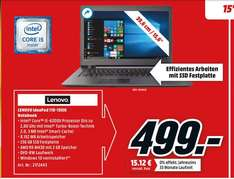 LENOVO IdeaPad 110 / 15.6 Zoll / 8GB / i5 / 256GB SSD / dedizierte Grafikkarte / HD-Display