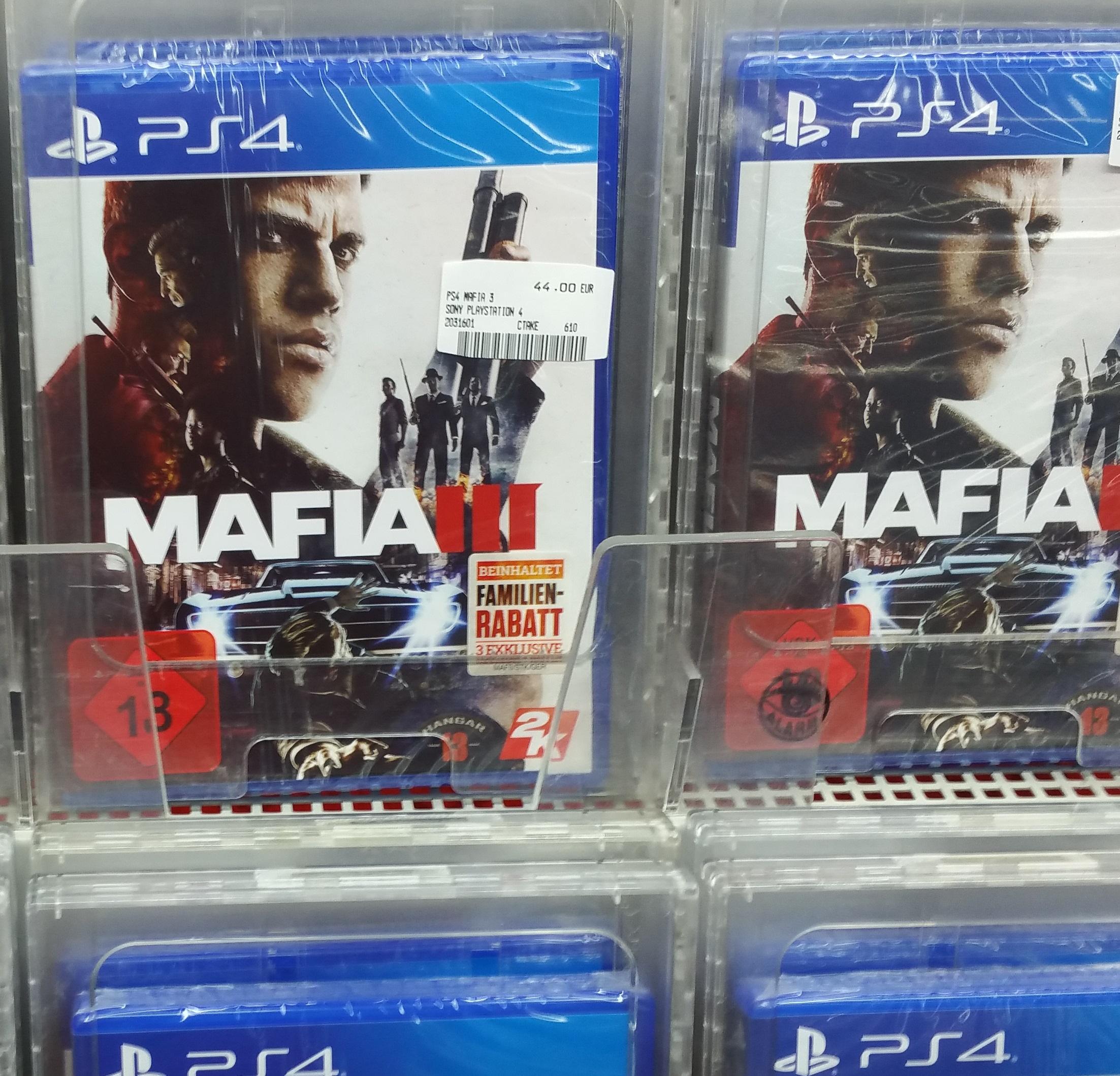 lokal MM Sulzbach (MTZ) Mafia 3 PS4/XBOX ONE 44,-