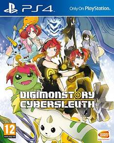 DIGIMON Story: Cyber Sleuth (PS4) auf amazon UK