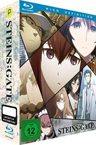 Steins; Gate (Serie, Blu-Ray) einzeln für ~ 21,99€ || komplett für 85,84€ ohne Prime zzgl. Versand