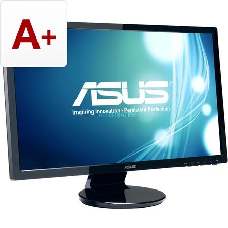 Asus VE248HR 61 cm 24 Zoll Gaming Monitor: VGA, DVI, HDMI, 1ms Reaktionszeit, Lautsprecher, neigbar, entspiegelt, schwarz für 139,90€ @Zackzack.de