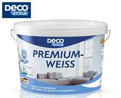 [Aldi Süd / Lokal Munderkingen 89597] Deco Style Premiumweiss 11 Liter