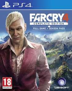 (Game.co.uk) Far Cry 4: Complete Edition (PS4) für 20€