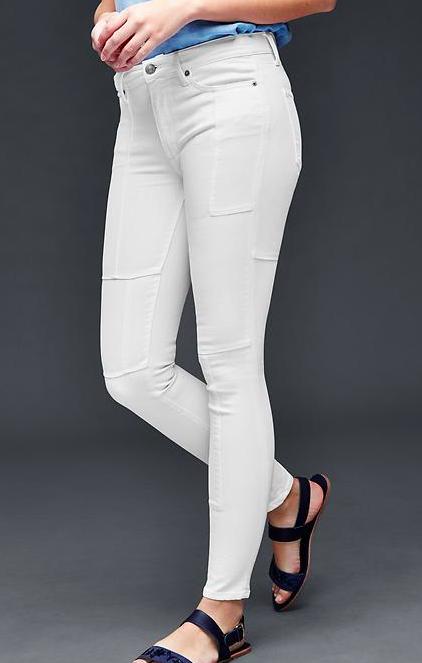 25% Rabatt extra auf Damen- und Schwangerschaftsmode bei [GAP] z.B. Stretch Jeans für 7,49€ + 4€ VSK
