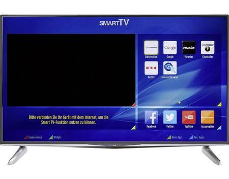 """JVC LT-40VU83A, LED Smart TV, 40"""" (102 cm), UHD, EEK A, DVB-T2, DVB-C, DVB-S, WLAN, CI+, Schwarz"""