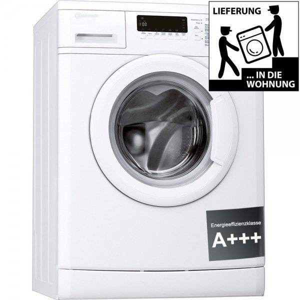 Bauknecht WAK 73 Waschmaschine, unterbaufähig, Mengenautomatik, Mehrfachwasserschutz, A+++, 171 kWh/Jahr, 7kg, 1400U/?min- für 299€ (eBay)
