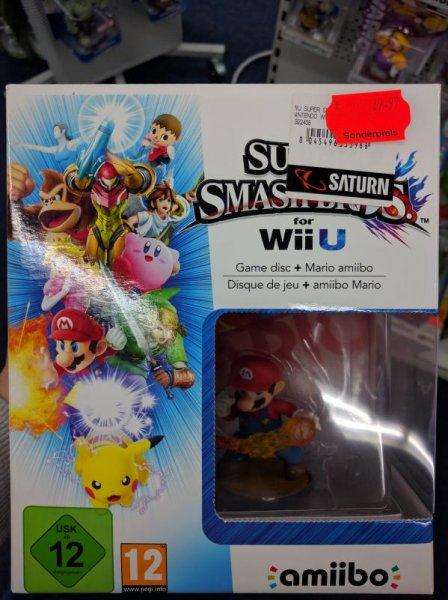 [Lokal Gelsenkirchen Buer] Super Smash Bros mit Amiibo (Wii U) für 29,97€ bei Saturn