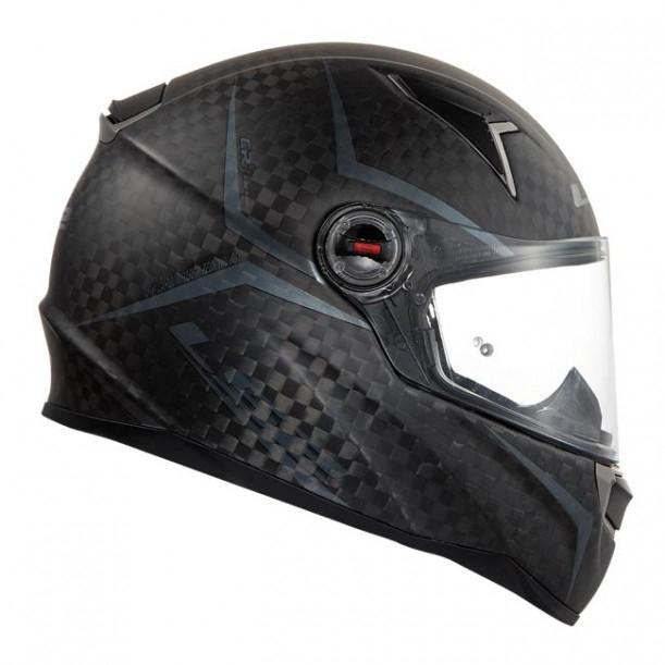 LS2 FF 396 CR1 Carbon Integralhelm Magneto für 99,99€ bei Gericke