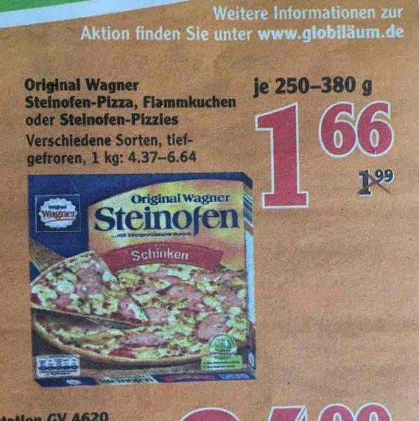 Wagner Pizza o. Flammkuchen 1,66€ bei Globus (wahrs bundesweit)