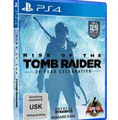 Tomb Raider Rise of the Tomb Raider 20 Year inkl. Buch - PS4 (Day one Edition inklusive Artbook)