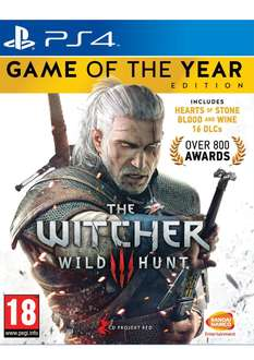 The Witcher 3:Wild Hunt Game of the Year Edition (PS4) für 38€ inkl. Versand