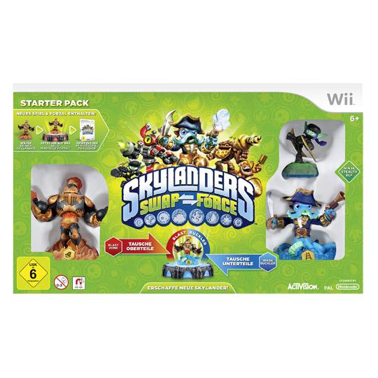 10€ – Nintendo, Wii Skylanders 3 Starter Pack