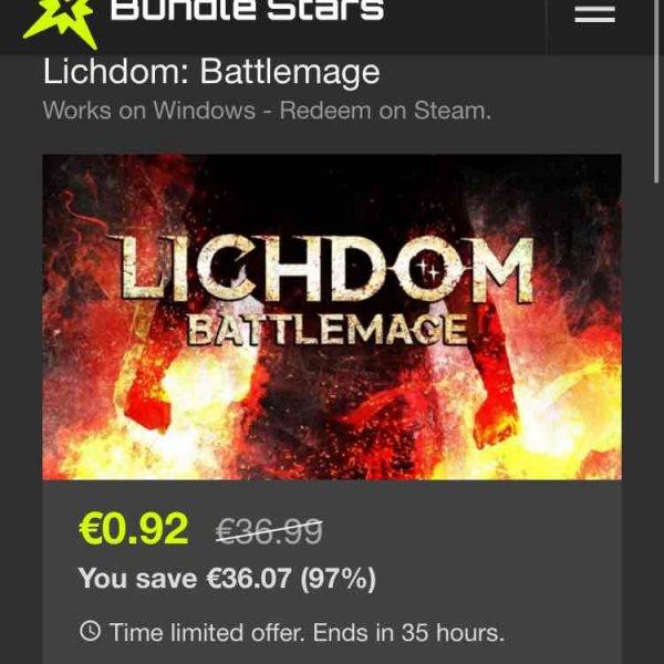 [Bundlestars] Lichdom Battlemage Steam Key