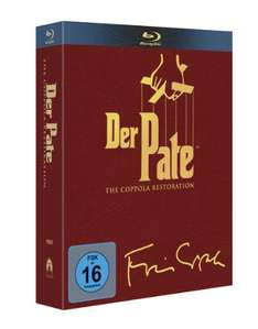 Der Pate Triologie - The Coppola Restoration [4 Blu-rays von Amazon]