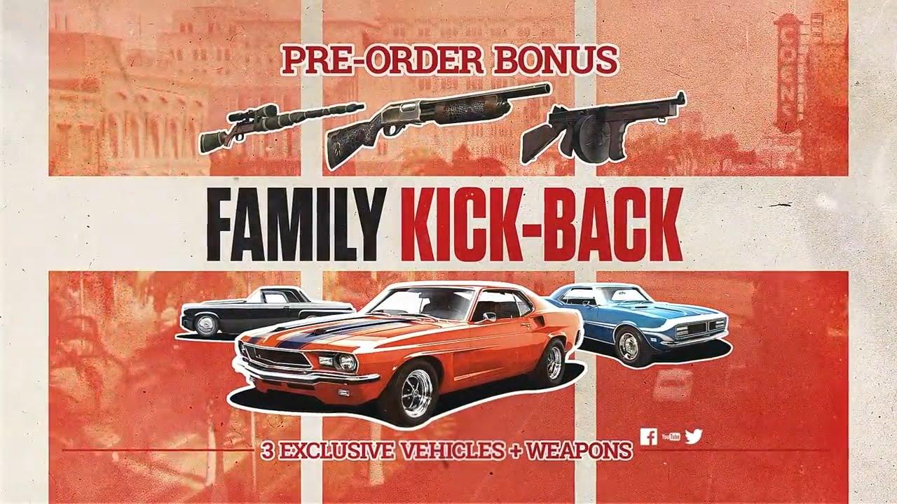 [PC] Mafia III - Family Kick-Back - EU DLC key (Pre Order Bonus nachkaufen)