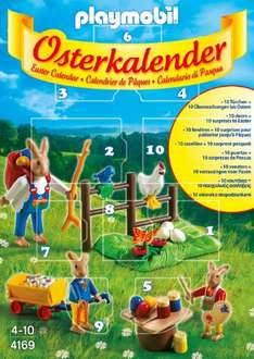Playmobil Osterkalender als Amazon Plus Produkt 4,76 €