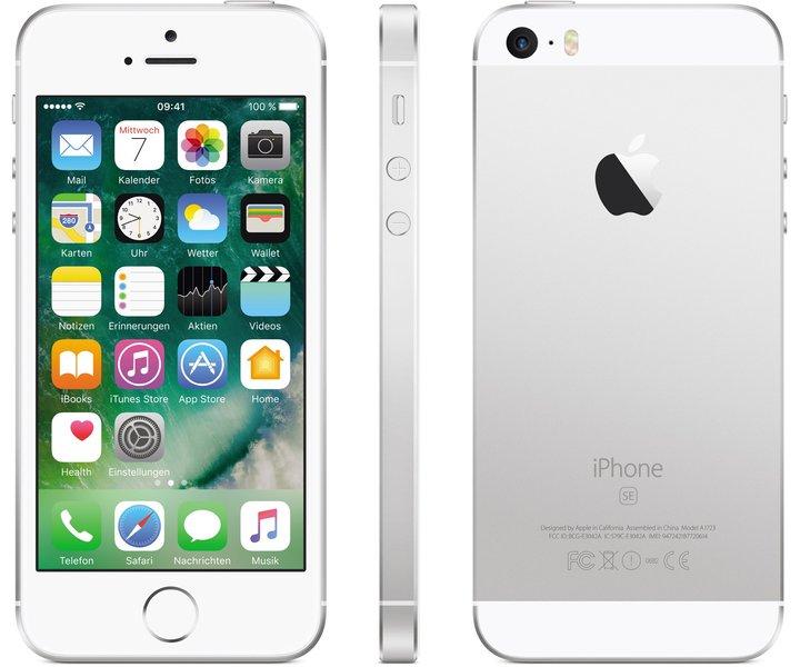 [mobilcom-debitel Sonntagskracher] Apple iPhone SE 64 GB Silber für 469,94€